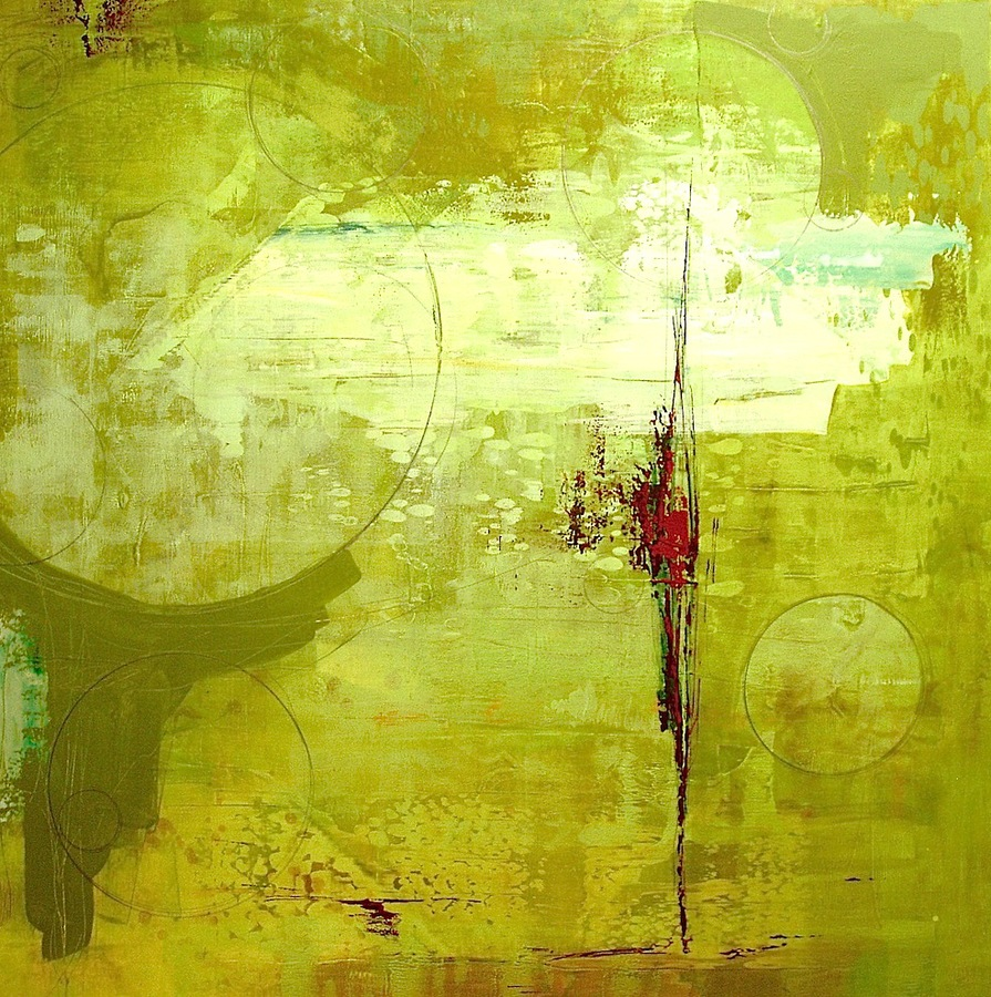 2008 - 2010 Green Abstract