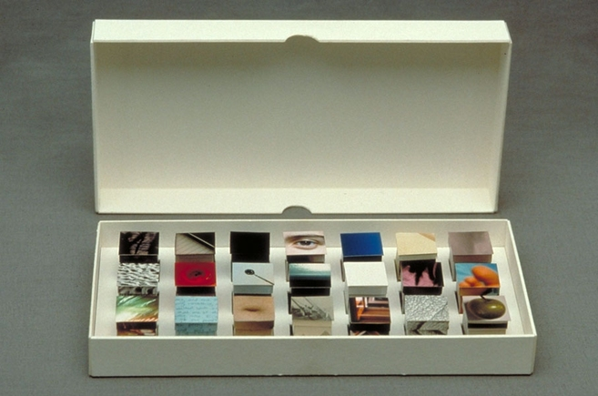Heather COX Photo Constructions, 1987-1996 Color photographs, Japanese paper and mat board