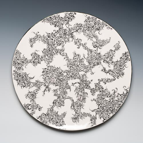 Cristina Pellechio ceramic wall work- single
