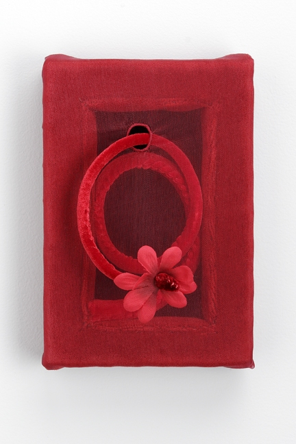 Cynthia Atwood 2006 - 1999 wood, fabric, rubber snake, fake flower