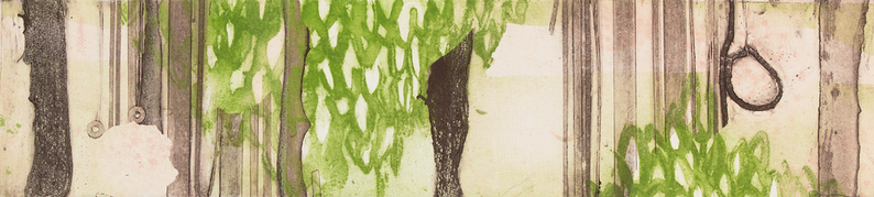 Cynthia MacCollum Landscapes Collagraph Monoprint
