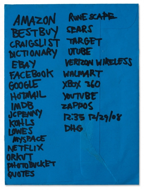 works on paper 2008-2011 google list 2
