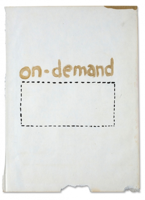 works on paper 2008-2011 on-demand