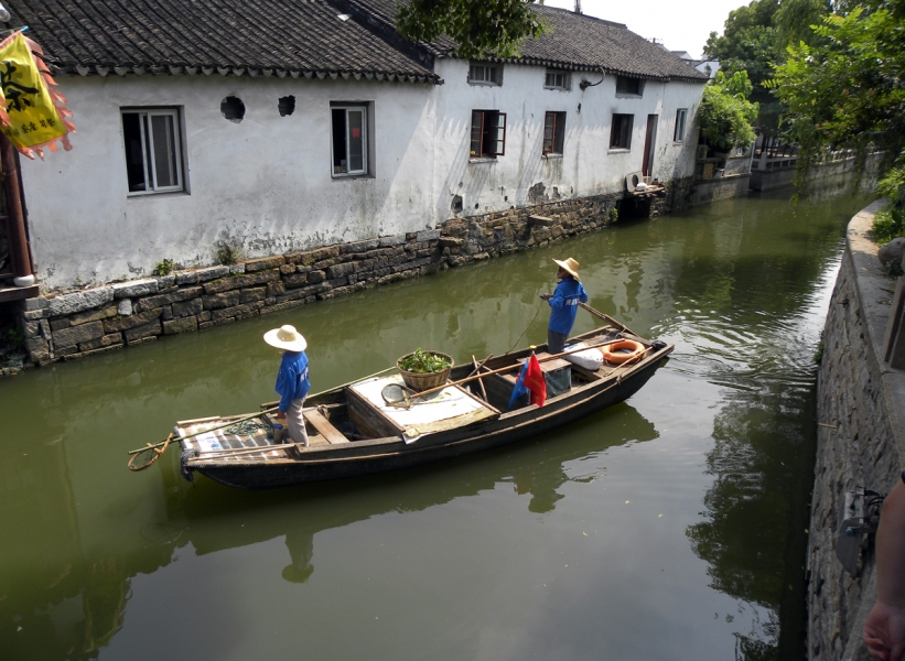 Photgraphy Canal, SoZhou, China