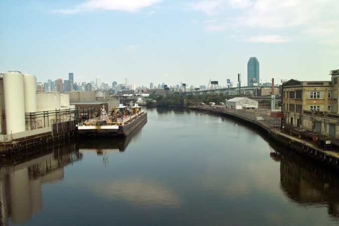 Dan Cook Along the Newtown Creek