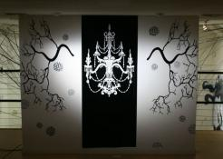 Danica Novgorodoff <b>Design & Illustration</b> Wall installation