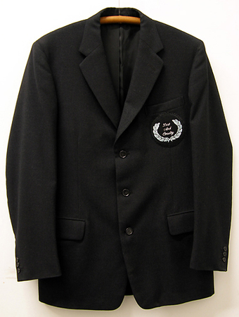 Daniel A Bruce Early Work blazer, tattoo