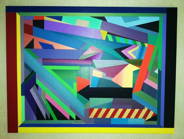 Daniel Carello Paintings Acrylic on canvas