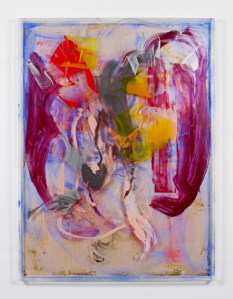 DANIELLE FRANKENTHAL 2016-2018 Acrylic on acrylic panels with gilding