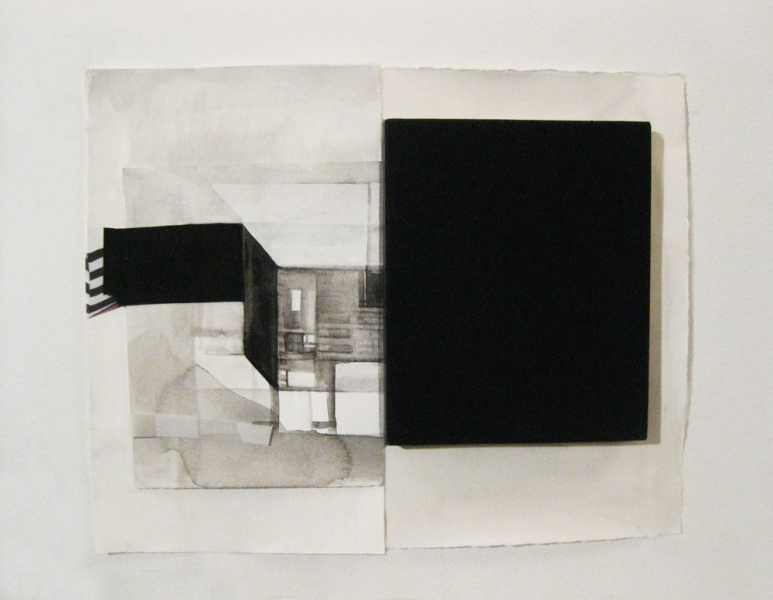 works on paper Untitled (Splitting series)