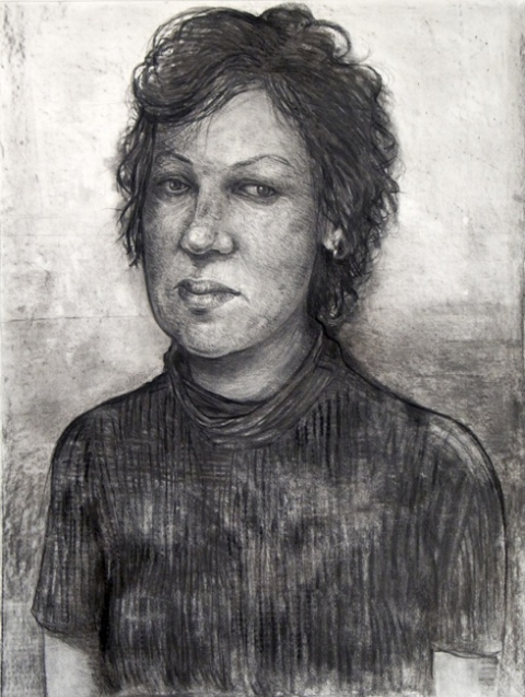 Danny Turitz Drawings charcoal on paper