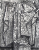 Danny Turitz Drawings charcoal