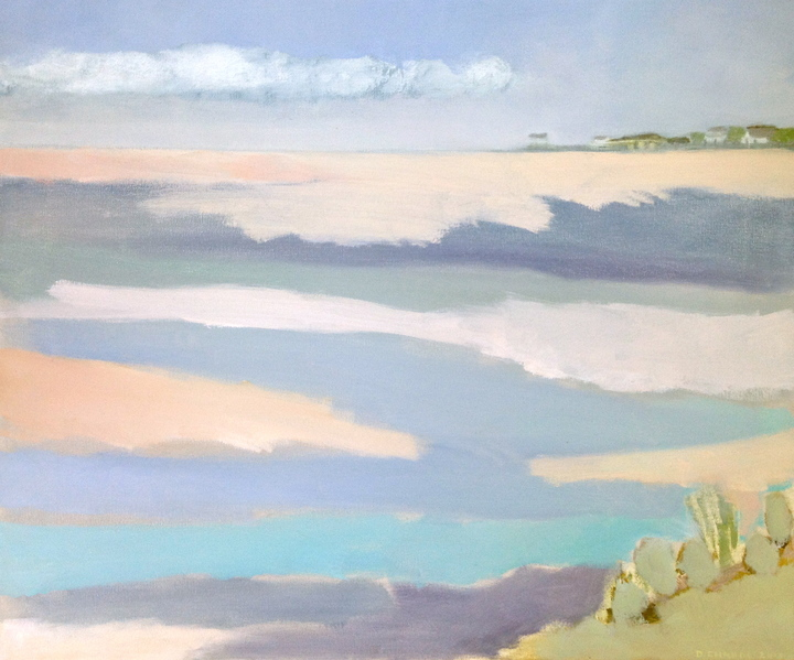 Daphne Chapin landscape  oil on canvas