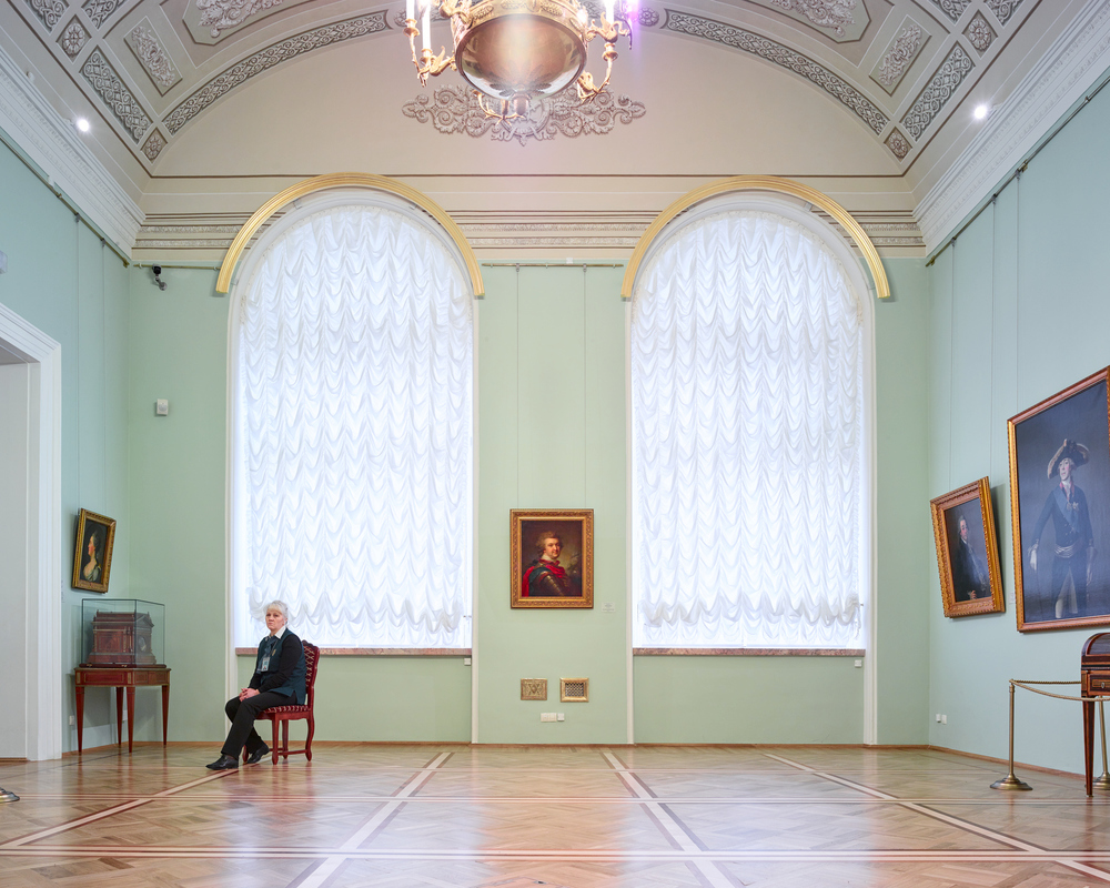 RUSSIA: A Bright Future,  2014-2015 Docent I, State Hemitage, St Petersburg, Russia, 2015