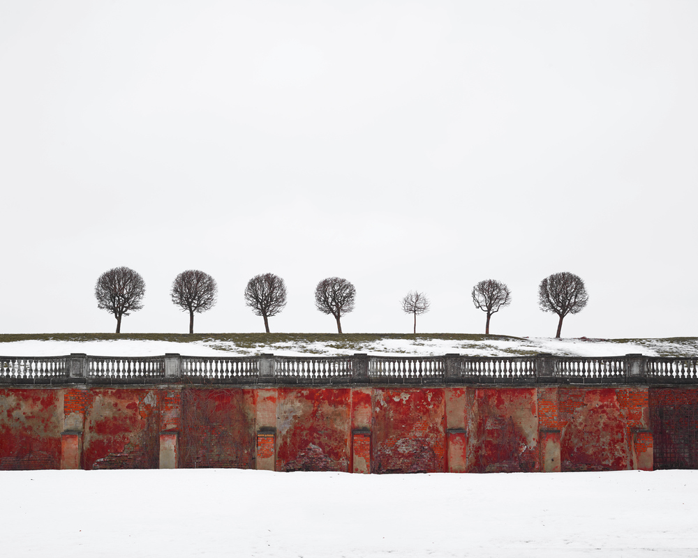 RUSSIA: A Bright Future,  2014-2015 Red Wall, Peterhof, Russia, 2015