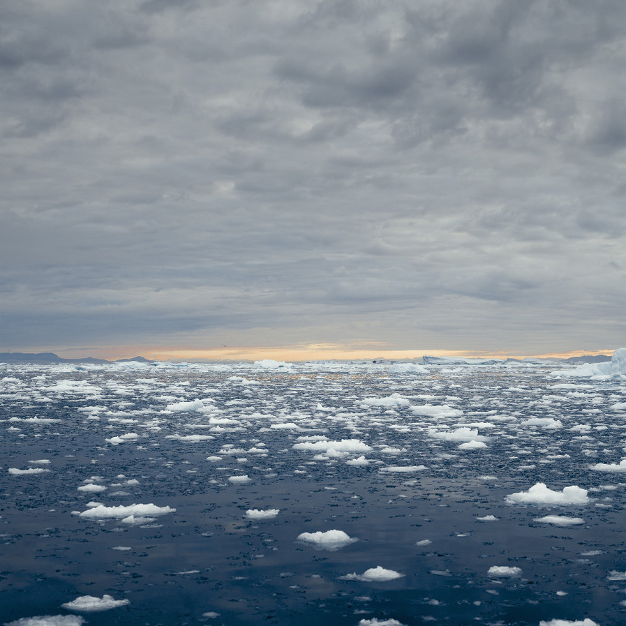 NORTH/SOUTH Disko Bay 03, Greenland, 2008
