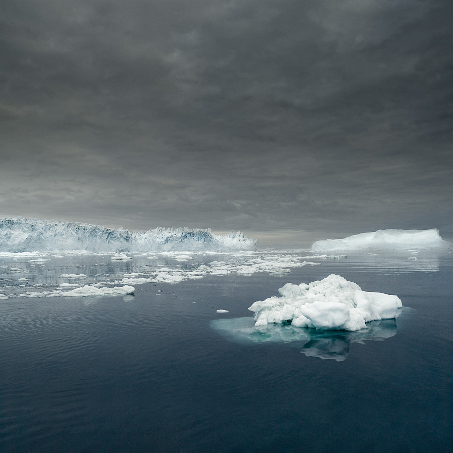 NORTH/SOUTH Ilulissat Icefjord 01, Greenland, 2008