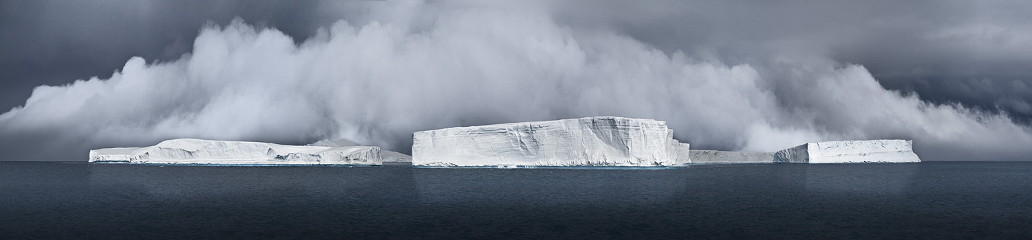 NORTH/SOUTH Tabulars Generating Fog, Antarctic Sound, 2007