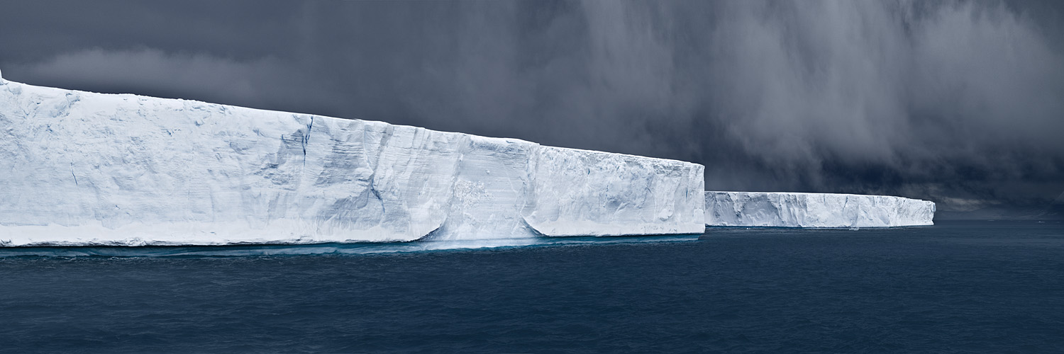 NORTH/SOUTH Tabulars in Hope Bay, Antarctica, 2007