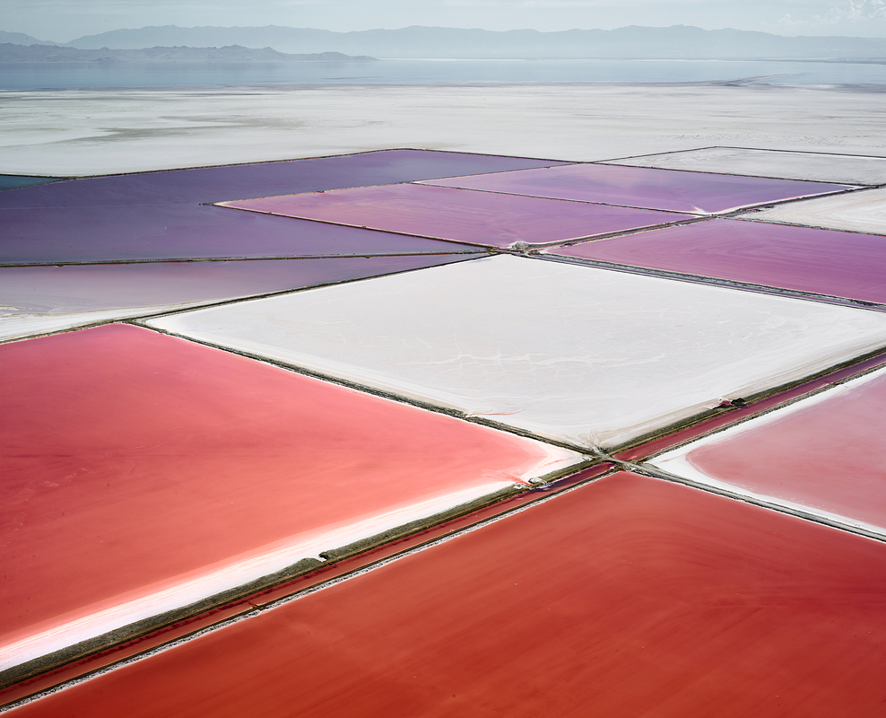 SALT:  Fields, Plottings and Extracts 2015-2016 Saltern Study 14, Great Salt Lake, UT, 2015