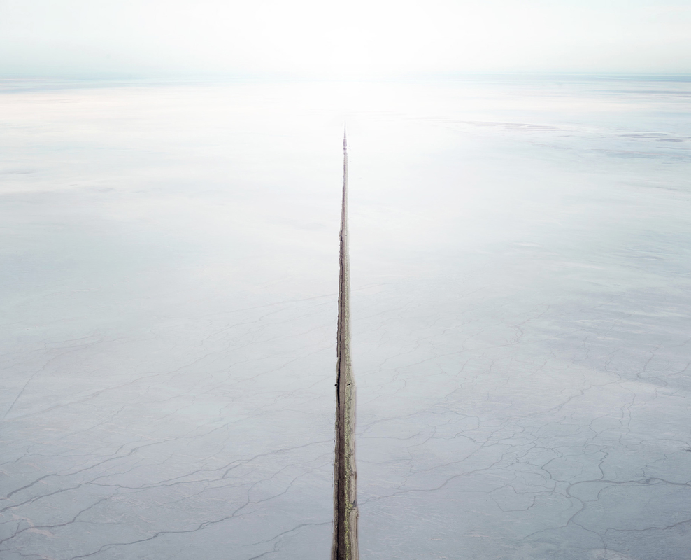 SALT:  Fields, Plottings and Extracts 2015-2016 Salt Flat & Stream, Sea of Cortez, Mexico, 2016
