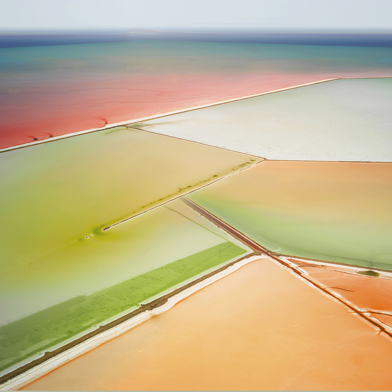 SALT:  Fields, Plottings and Extracts 2015-2016 Saltern Study 06, Great Salt Lake, UT, 2015