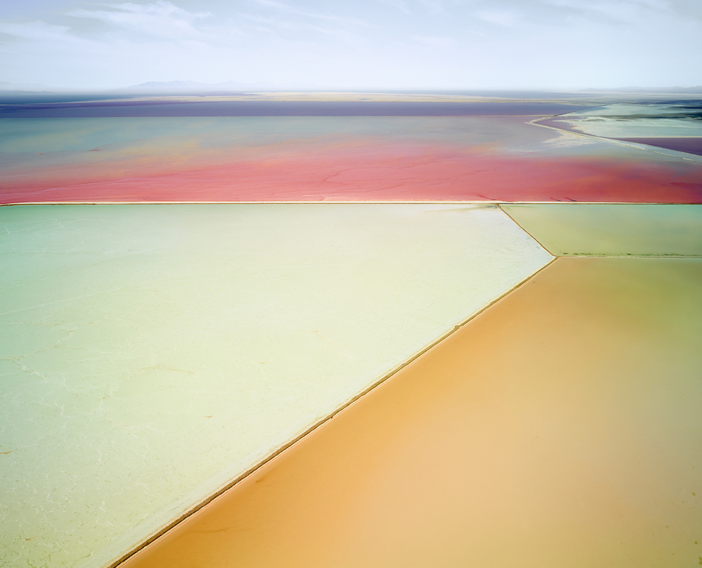 SALT:  Fields, Plottings and Extracts 2015-2016 Saltern Study 01, Great Salt Lake, UT, 2015