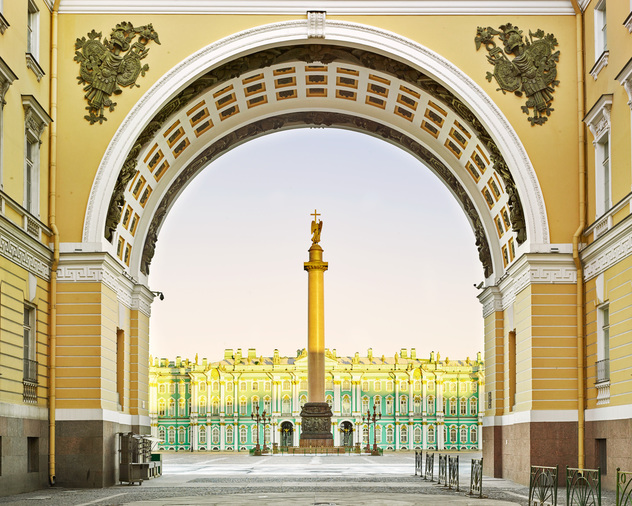 Palace Square, St Petersburg, Russia, 2014