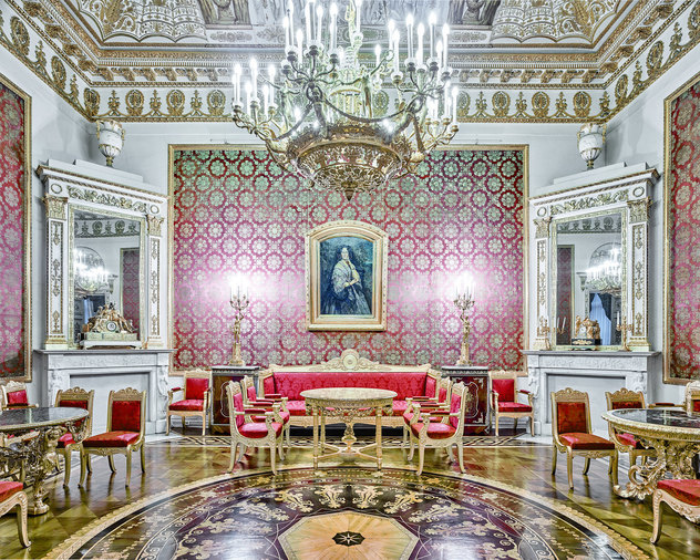 Red Room, Yusopof Palace, St Petersburg, Russia, 2015