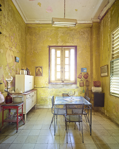 Yellow Kitchen, Havana, Cuba, 2014