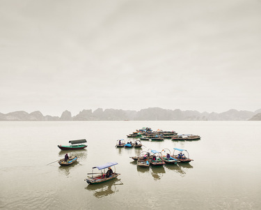Water Taxis, Vinh Ha Long, Vietnam, 2011