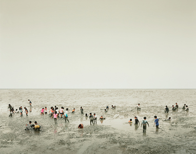 Mudflat, Ariake Sea, Kyūshū, Japan, 2010