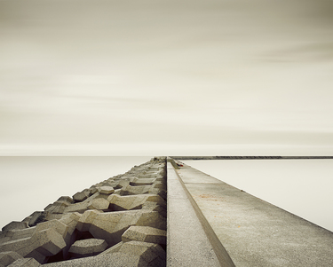 Harbour Wall, Suo-nada Sea, Japan, 2010