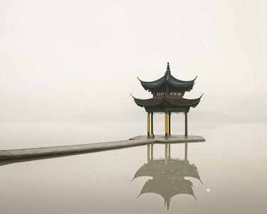 Pagoda, West Lake,Hangzhou, China, 2011
