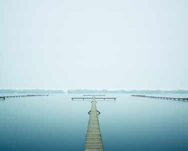 Thin Dock, West Lake,Hangzhou, China, 2011