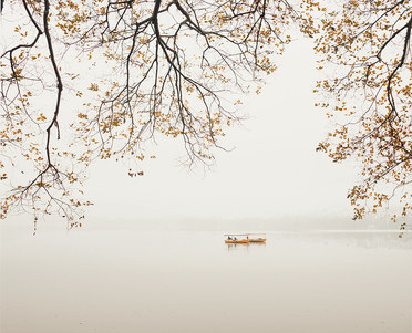 Boats, West Lake, Hangzhou, China, 2011
