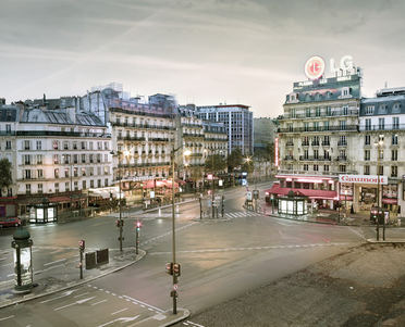 Montparnasse as Dawn, Paris, France, 2012