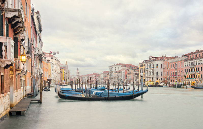 Gondola Station II, Grand Canal, Venice, IT, 2012
