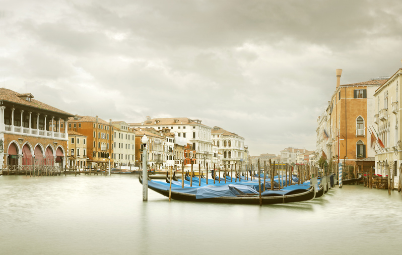 Gondola Station III, Grand Canal, Venice, IT, 2012