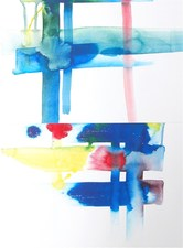 Artist David A. French : Paintings and Works on Paper Works on paper acrylic ink on paper