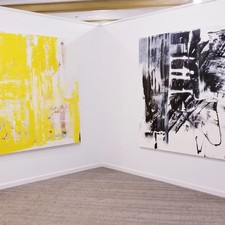 "Artist David A. French : Paintings and Works on Paper 2018 ""Chromatic Payoff"" Noyes Museum, Claridge Gallery"