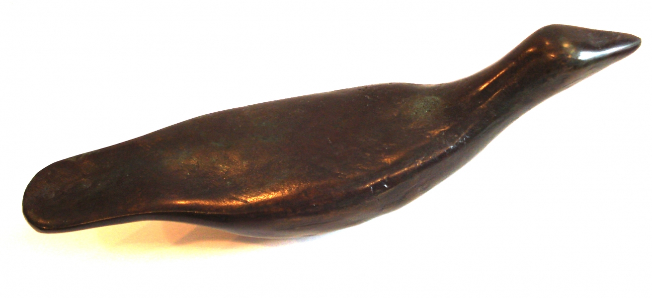 Bronze Sculpture Artifact (Bird)