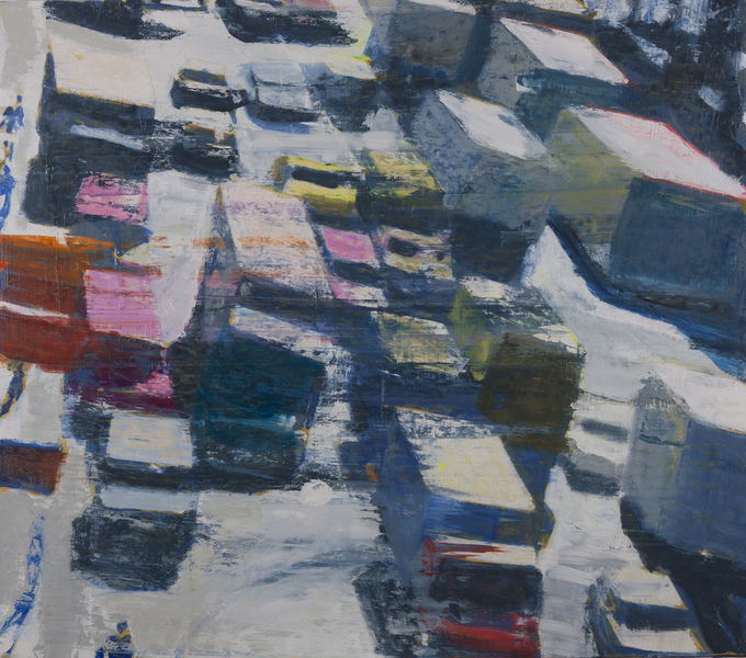 Paintings Truck Traffic