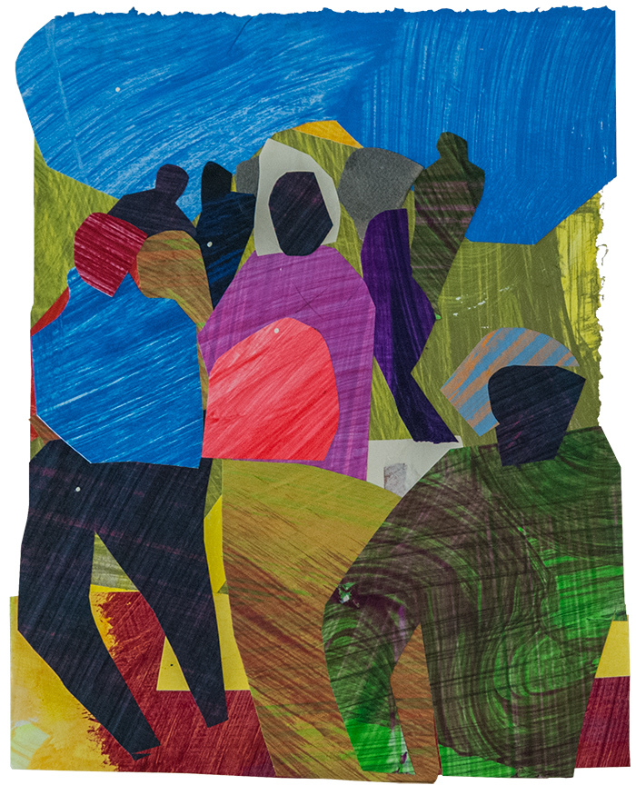 Works on Paper Migration (for Jacob Lawrence)