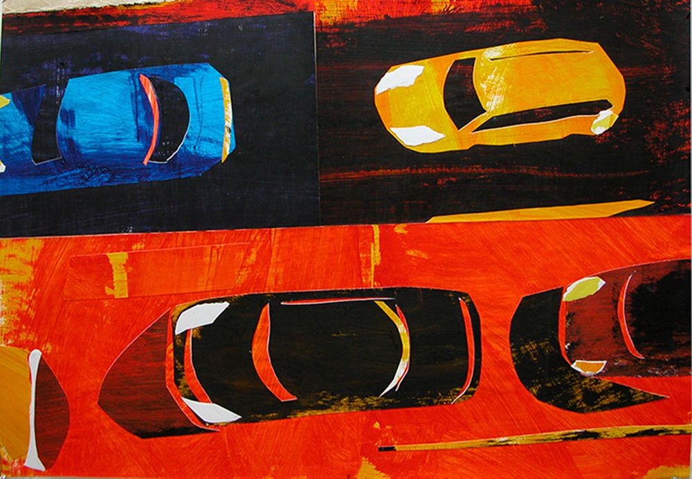 Works on Paper 4 Cars