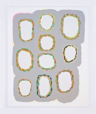"david kelley ""cartoosh"" 2010 - 2012 acrylic gouache on canvas"