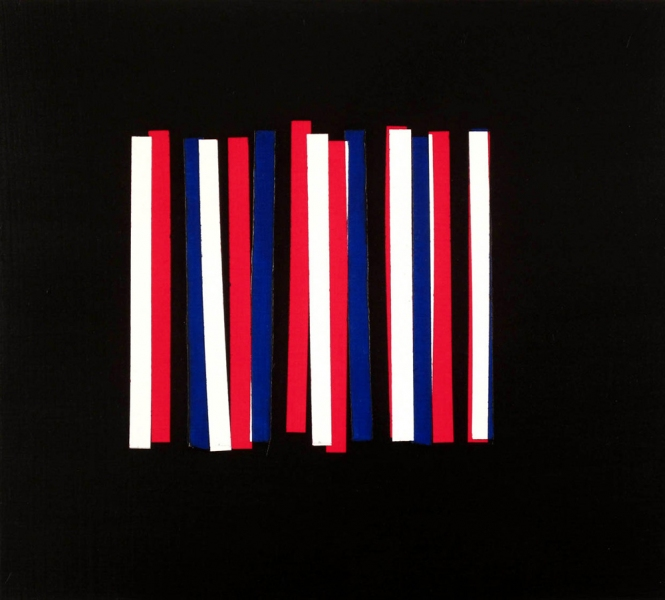 Investigations Untitled (Stripes Painting)