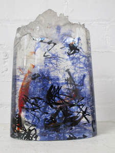 David Ruth Cast Glass Sculpture Aretai Glass
