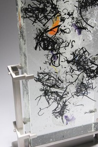 David Ruth Cast Glass Sculpture Holonga