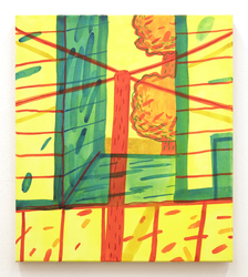 David Schroeter David Schroeter Acrylic ink on canvas